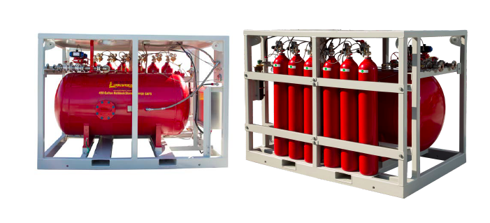 Offshore Helideck Unit for Fire Protection on Oil and Gas Platforms