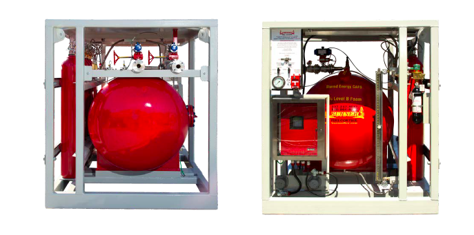Completed Photos of Helideck and Heliport CAFS Fire Fighting System