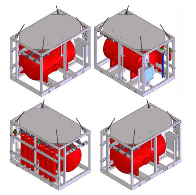 Helideck and Heliport RigSafe CAFS Compressed Air Foam System Specifications