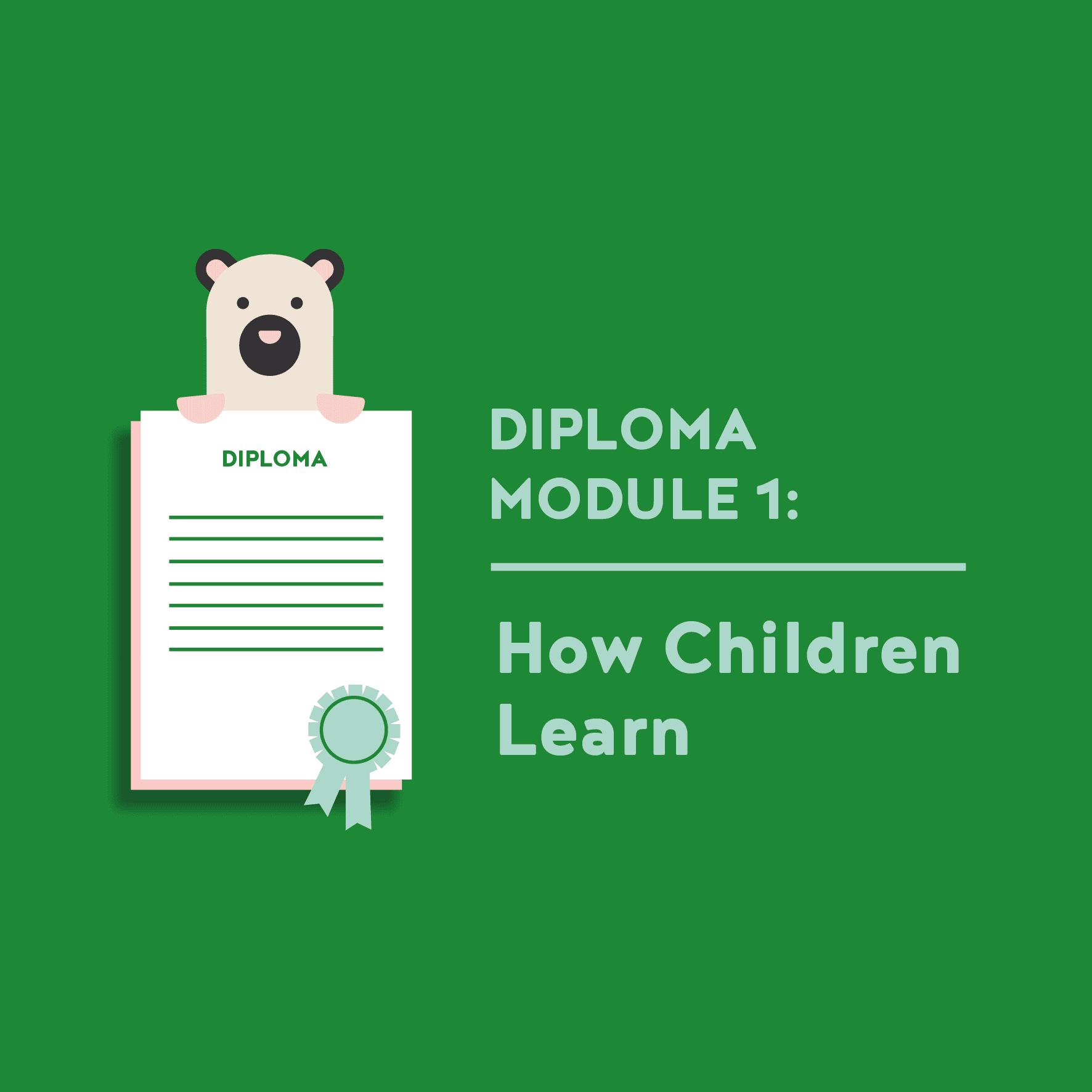 Teacher Diploma Module 1