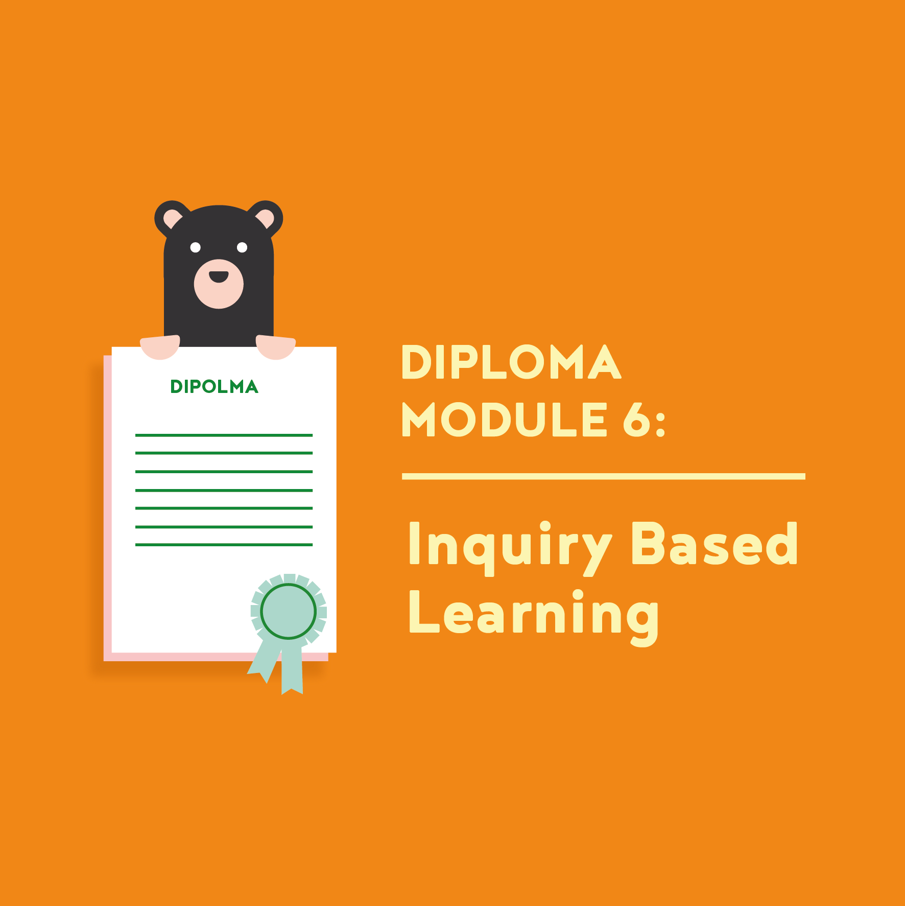 Teacher Diploma Module 6