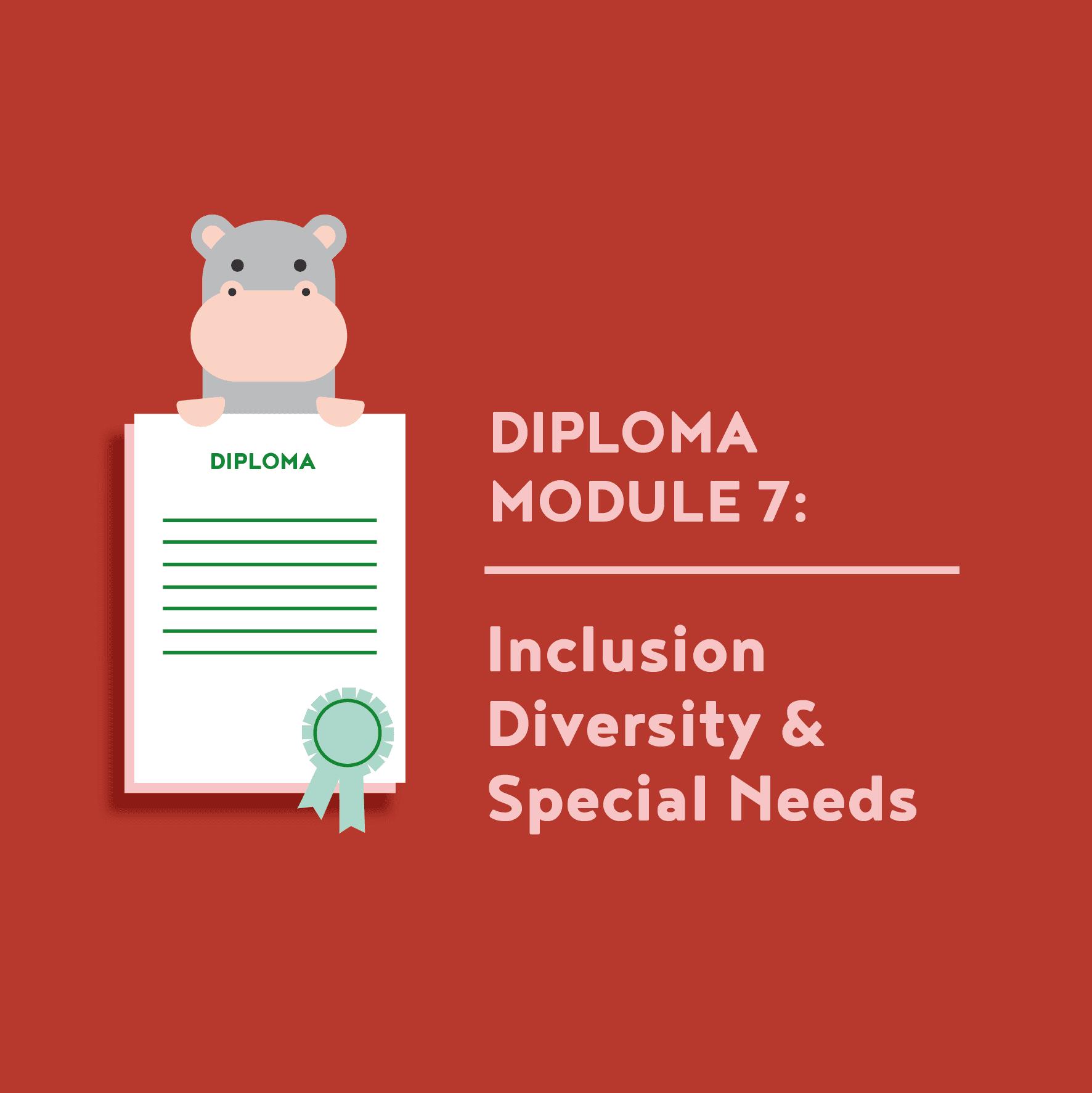 Teacher Diploma Module 7