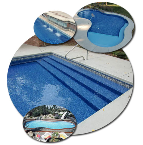 describe the image our vinyl liner