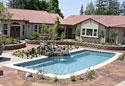 Customer fiberglass pool designs
