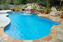 Freeform fiberglass pool designs