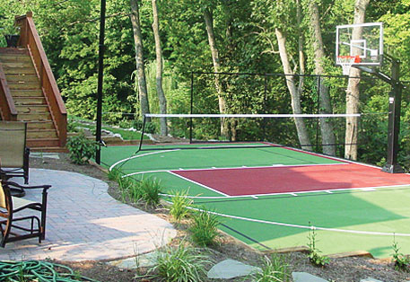 Outdoor Game Courts High Performance Modular Court