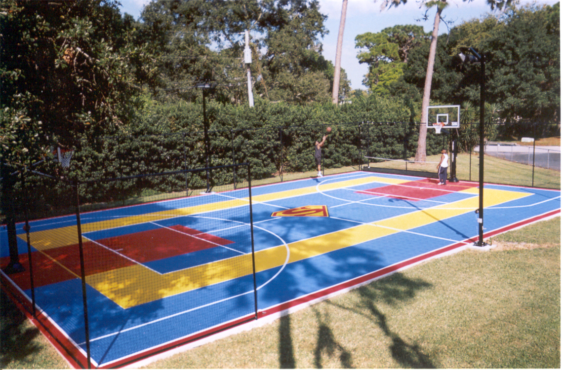 Sport Court East Colorful Game Court