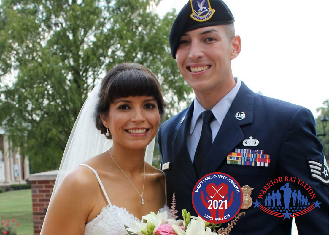 Warrior Battalion Charity helped pay for a local Airman's wedding