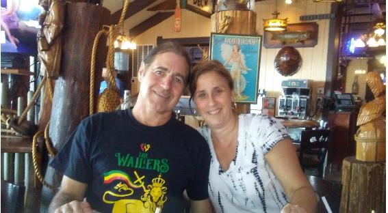 Bari Pritchett V-Soft Recruiting Lead with her husband Bret