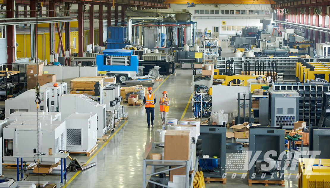 Large Manufacturing Environment during COVID-19 pandemic