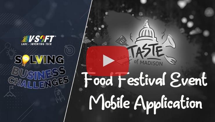 Case Study: Taste of Madison Food Festival Event Mobile Application