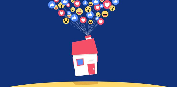 Facebook organic posts boast big real estate benefits