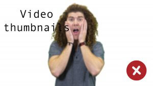 example of a bad video thumbnail