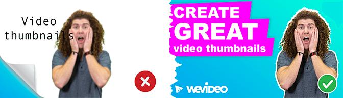 Maximizing your video thumbnails