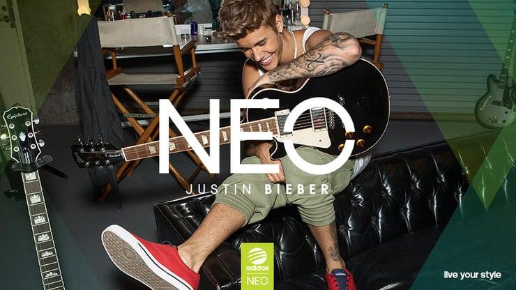 Justin Bieber NEO Adidas