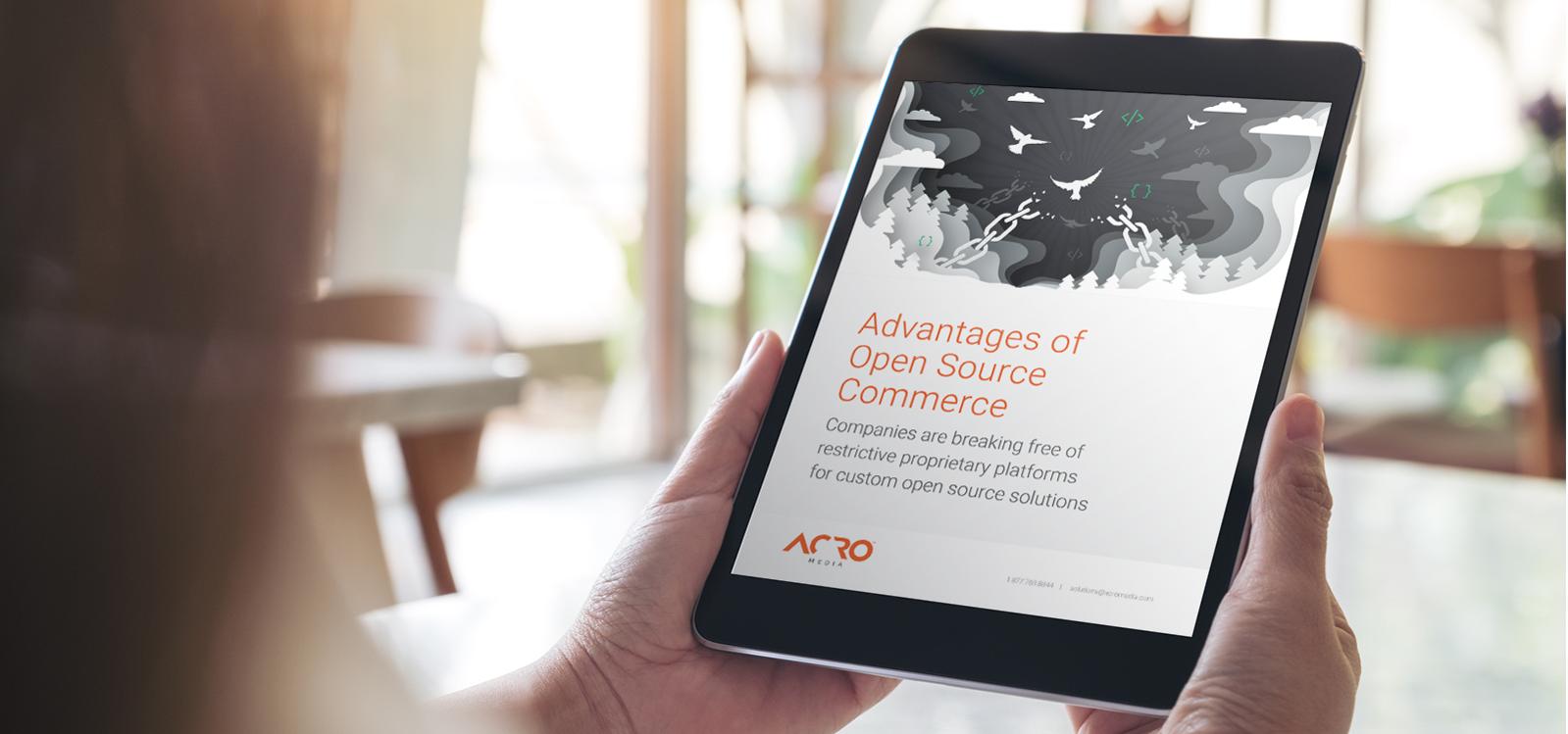 Advantages of Open Source Commerce | Acro Media