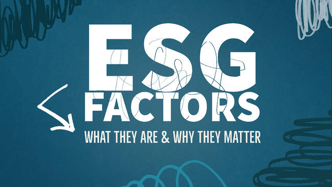 ESG Factors: What they are & why they matter