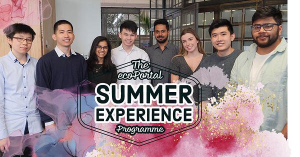 The ecoPortal Summer Experience Programme: An Energetic, Engaging Environment