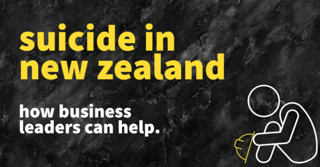 The Weight of Elephants: Suicide in NZ & How Business Leaders Can Help