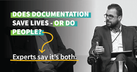 Does safety documentation save lives – or do people?