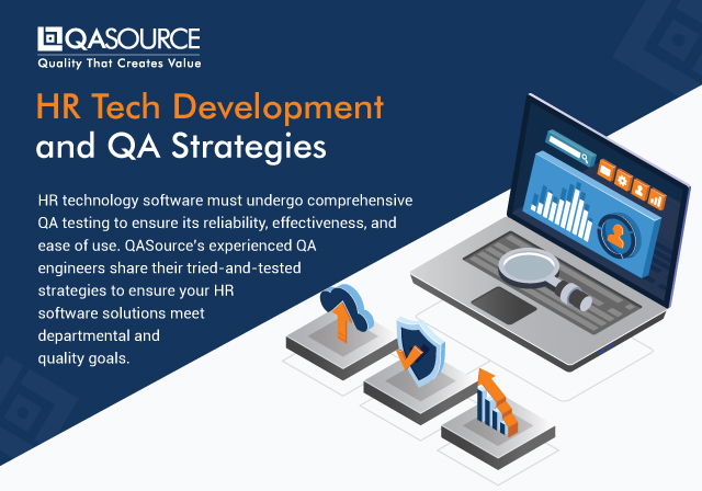 HR Tech Development and QA Strategies (Infographic)