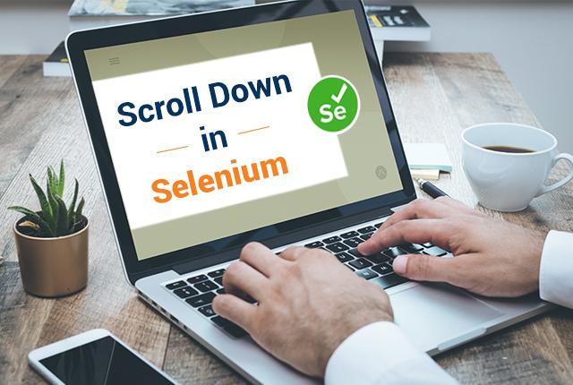 How do I scroll down in Selenium?