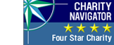 Charity Navigator 4 Star Rating