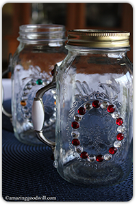 Mason jars - Stemmed mason jars ...