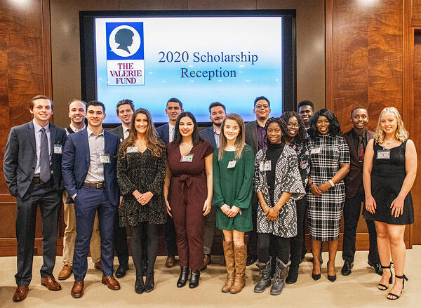2020 Scholarship Reception group photo reduced