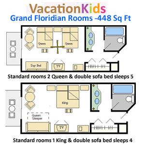 Rooms At Grand Floridian