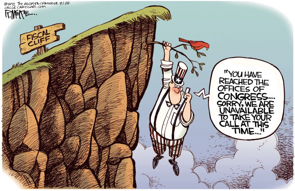 Fiscal cliff Congress
