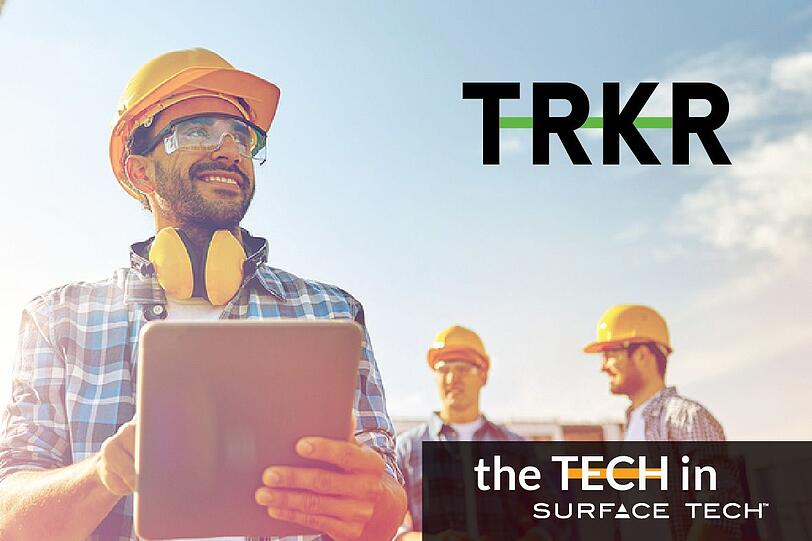 TRKR online ordering system for the concrete industry.