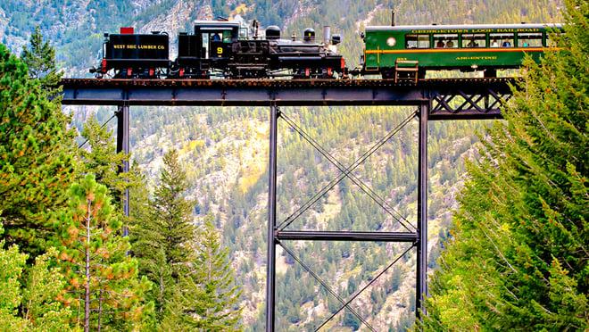 train rides colorado