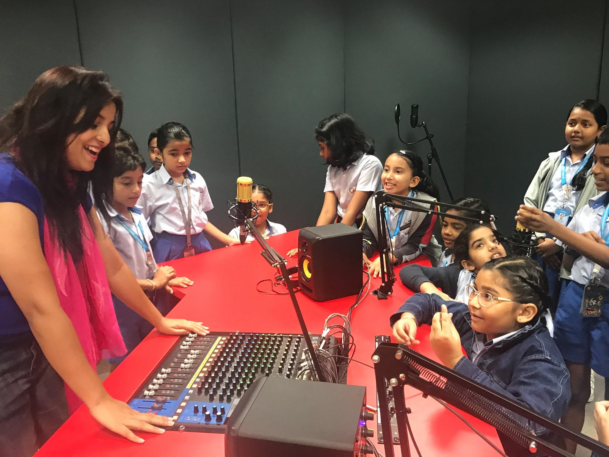 GII_Radio studio