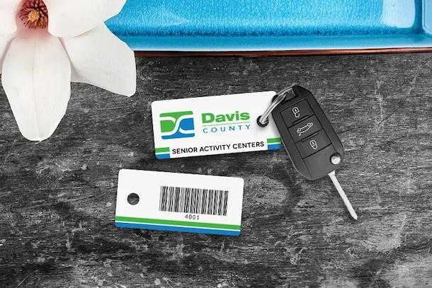 Key tag barcode to help you track attendance