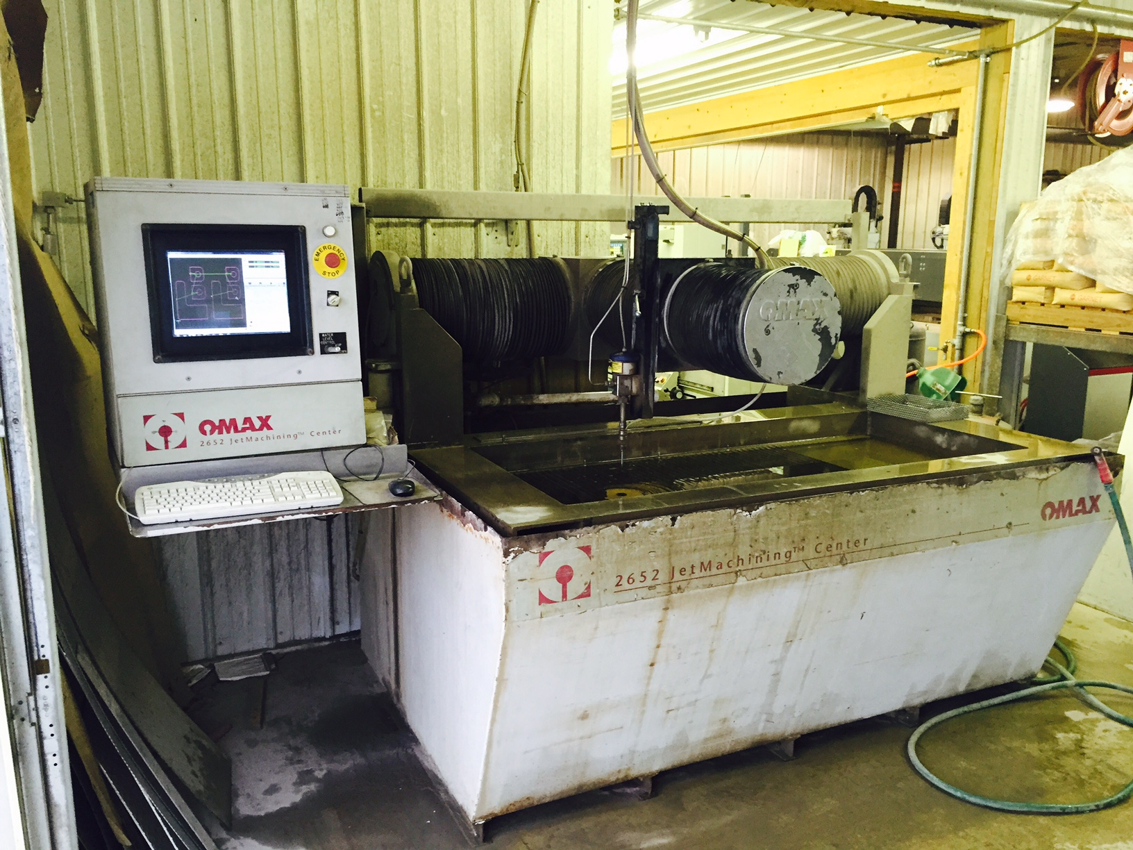 1997 Omax 2652 CNC Waterjet Cutting System (#3749)