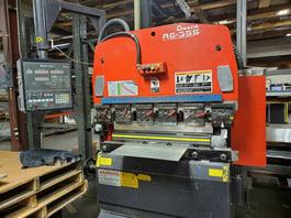 1998 Amada RG-35 CNC Hydraulic Press Brake (#3784)