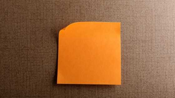 Sticky Note Video