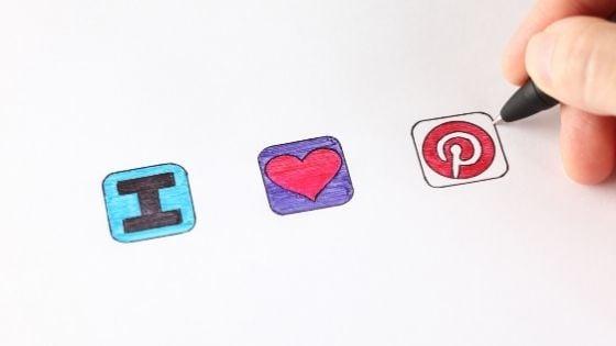 I love Pinterest Icons