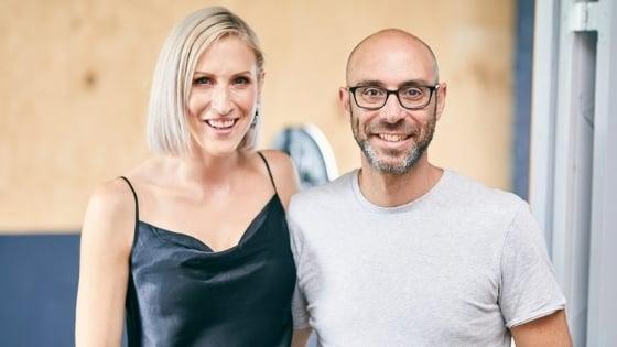 Renece Brewster & Daniel Goldstein co-founders Visual Domain