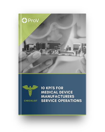 10 KPIs for Medical Device Manufacturers to Improve Service Operations