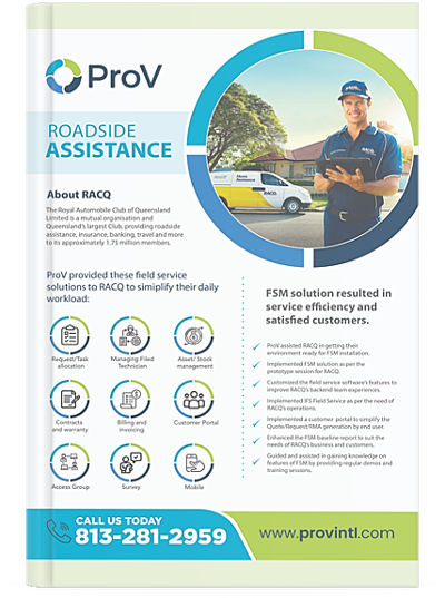 Field Service Software Case Study for Large Insurance Company