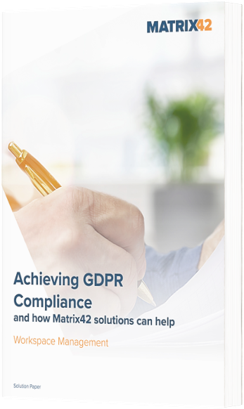 Free eBook! Top Ways to Achieve GDPR Compliance Requirements with Matrix42