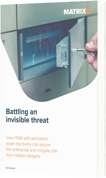 Free eBook! Battling an Invisible Threat: The Best Way to Prevent Security Threats at Your Organization with Matrix42
