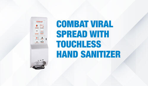 How Automatic Hand Sanitizer Dispensers Curb Pandemic Spread