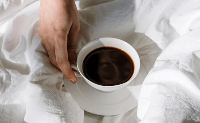 Caffeine before bed can distrubt sleep