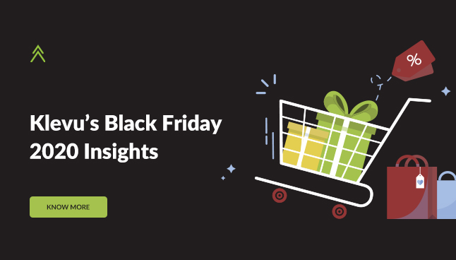 Klevu's Black Friday Insights: 2020