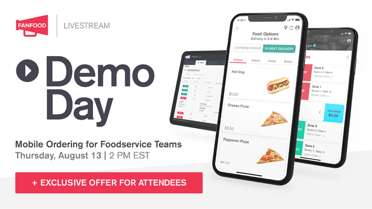 FanFood Demo Day: Recap and Q&A