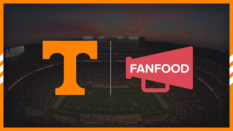 [Press Release] The University of Tennessee Expands FanFood Partnership Ahead of Football Season