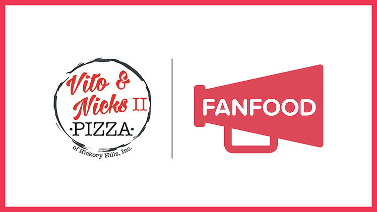 [Press Release] Vito & Nick's Pizza II Partners with FanFood Mobile Ordering
